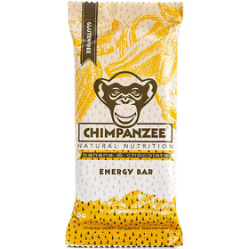 Chimpanzee Energy Bar Box Banana Chocolate (Vegan) 20 x 55g